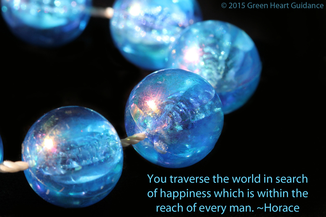 You traverse the world in search of happiness which is within the reach of every man. ~Horace